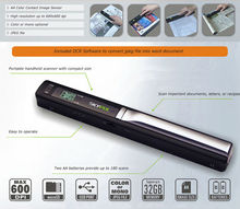 HD Pen 900dpi Color Scanner Handheld Portable Scanner PS-430