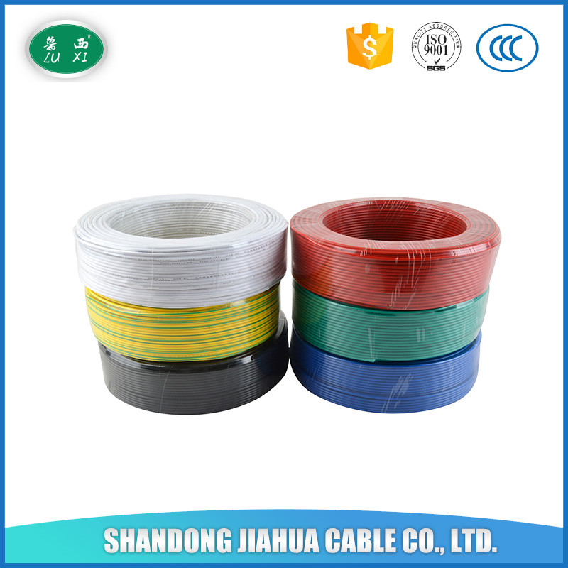 1.5mm 2.5mm 4mm 6 mm 10mm square single Copper Cores pvc wire and cable