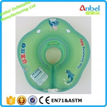Anbel Lovely plum blossom shape Baby Inflatable Swimming Float Swim Neck Ring