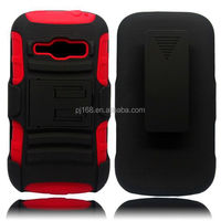 3 in 1 heavy duty kickstand hybrid combo case for Motorola Droid Ultra xt1080