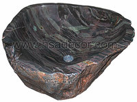 Cymbiform Bathroom Stone Art Hand Wash Basin Sink(FSE-STS-094G)