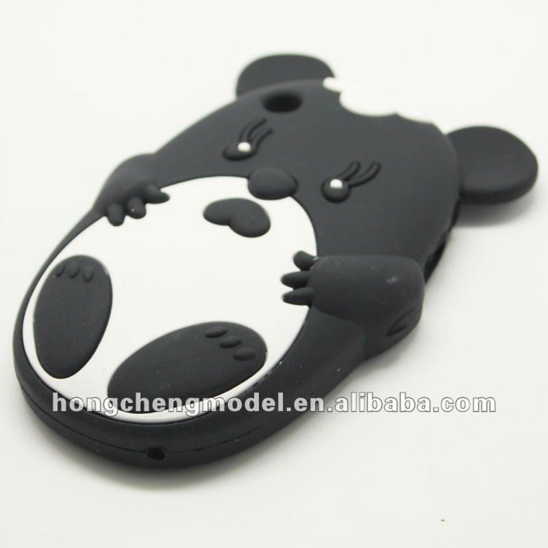 Cute animal shaped phone cases for Blackberry curve 8520