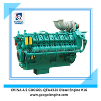 Googol Diesel Engine 1658kW Water Cooled V16 Engine for Sale