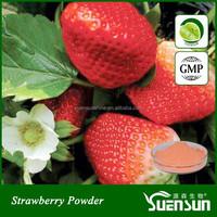 Organic Freeze Dried Strawberry Powder