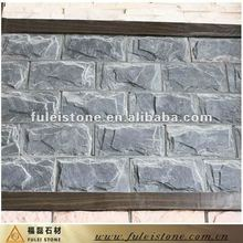 blue stones for exterior wall house