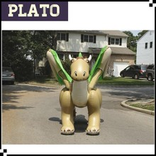 Inflatable dragon quality PVC inflated a huge extinct reptile