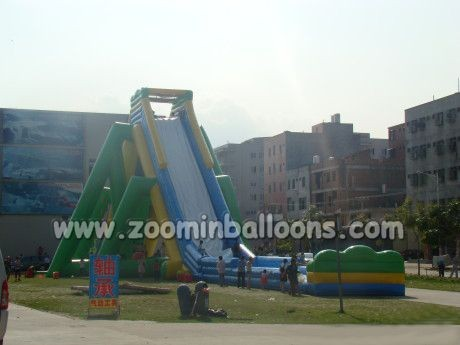 High quality most popular low price inflatable slide/inflatable water slide Z3009