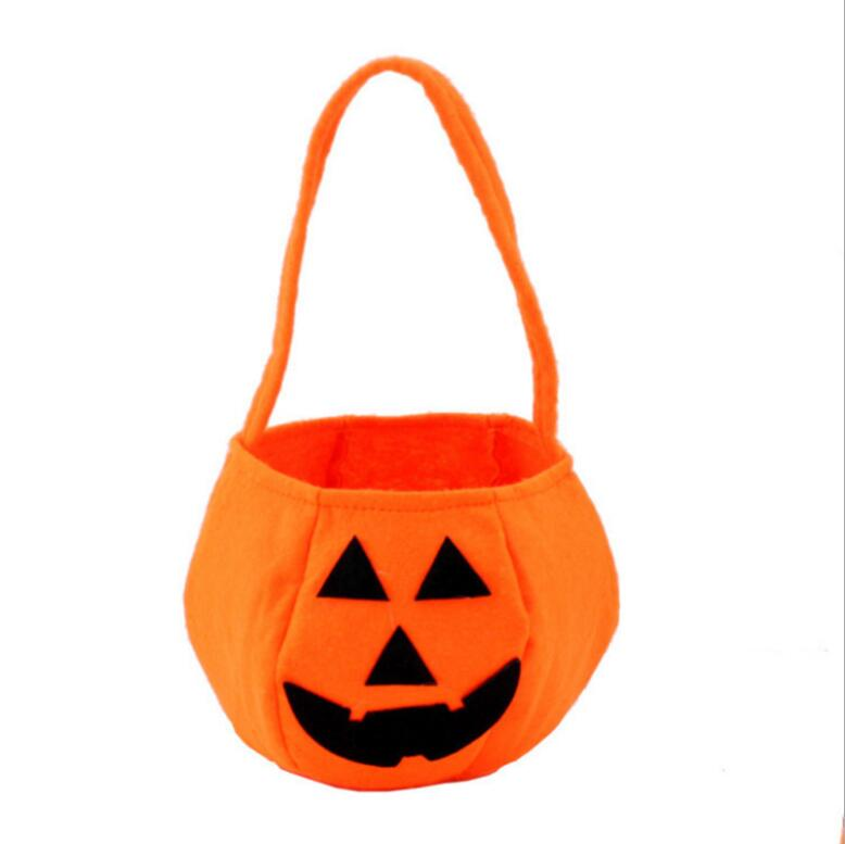 yiwu wholesale halloween style pumpkin candy basket decorations