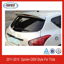 OEM STYLE!!!REAR SPOILER FOR TIIDA 2011-2013 ABS PLASTIC