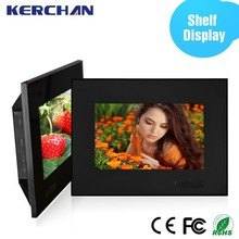 7inch heavy duty design plastic housing digital advertising signs for retail store with CE&Rohs