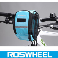 Wholesale new style colourful folding waterproof bicycle travel handlebar bags 11895 colourful travel trolley luggage bag