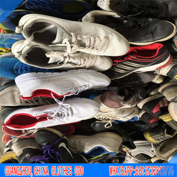 Tianjin China factory directly sale top quality cheacp price second hand used shoes