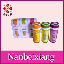 350ML BPA FREE Double Wall Plastic Tumbler With Handle