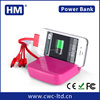 Promotional gift universal portable power bank support custom External Battery Slim Mobile Power Bank