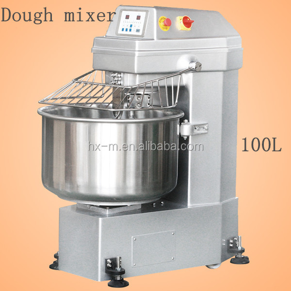 industrial sized bakery mixing machine