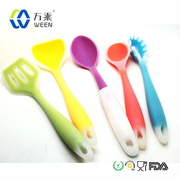 Colorfull Silicone kitchen items /Silicone kitchen tool/Silicone kitchen utensil set