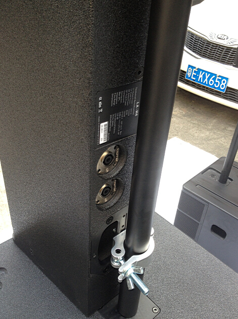 SPE Audio, Line array, LA-H6 & SP-118B, Power passive column system