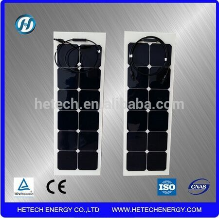 sunpower solar cell made A grade mini 38w flexible solar panels for sale