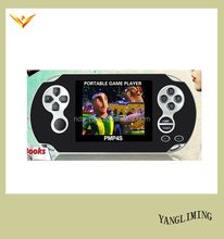 2016 hot selling 64 bit portable handheld game player PMP 4S free download game for MP5 player