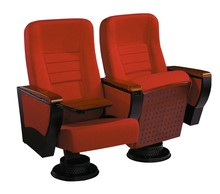 Customized School Auditorium Function Hall 4D Cinema Theatre Chairs