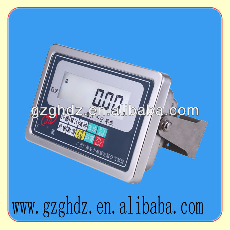 New Waterproof Stainless Steel Weighing Indicator