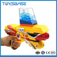 Plastic battery operated electric safe shooting water bullet toy guns for sale