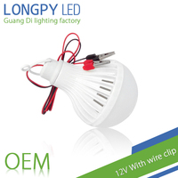 The night market necessities in the world 12V With wire clip LED bulb for outdoor use