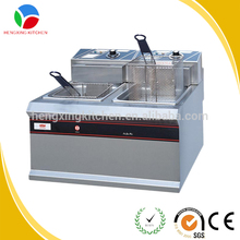 Low Price chicken pressure fryer/broaster pressure fryer/Used pressure fryer with 2 Tank 2 Basket