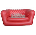 Promotion comfortable double seater inflatable air sofa
