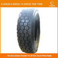 8.25R20 9.00R20 10.00R20 TRIANGLE TRUCK TBR TR626 Tire for mixed road conditions