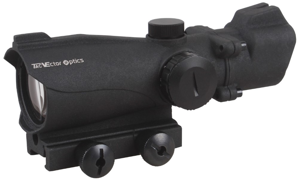 Vector Optics Condor 2x42 Red & Green Dot Scope Picatinny Mount with Rear & Front Iron Sight