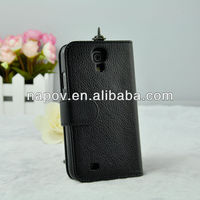 Wholesale High Quality Leather Phone housing for samsung galaxy s4 i9500 mobile case