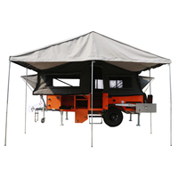 China Off Road forward folding camper trailers with tent for sale direct from manufacturer