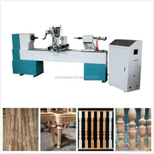 Alibaba China cnc automatic wood turning copy lathe for sale in india