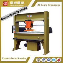 China Quality Made Moving Head Cutting Press Shoe Sole Making Machine