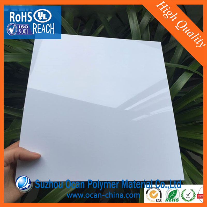 Matte White No Laminating PVC Card Sheets A4 Size