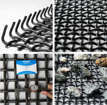 metal or stainless steel material durable mining screen mesh