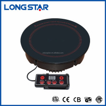 line controller microcomputer national induction cooker for hotpot/hotpot induction stove/round shapre induction hob cootop