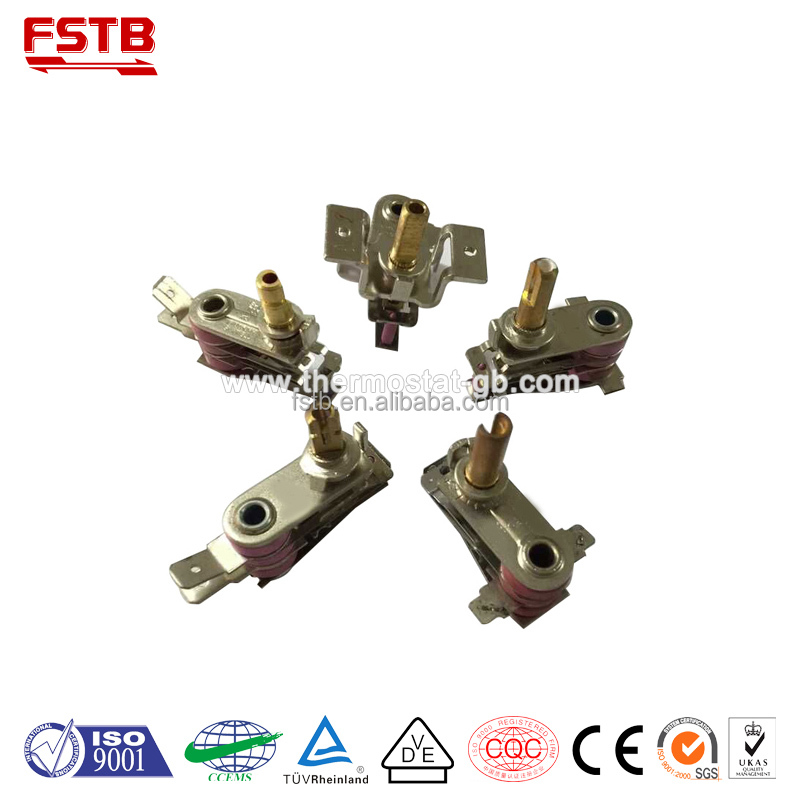 FSTB KST220 adjustable bimetal strip thermostat