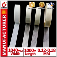 PE film and Glass fiber Adhesive Fiberglass Tape For Carton Sealing