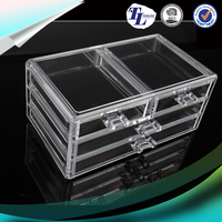 New Style 2016 5 drawer crystal acrylic jewelry display box