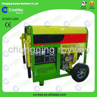 4kw diesel generator with open/silent type single phase CE&ISO cerification diesel generator tools