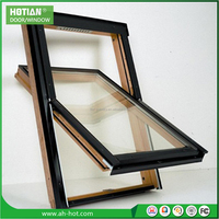 High quality top hung ventilation glass window awing window aluminum window grid design