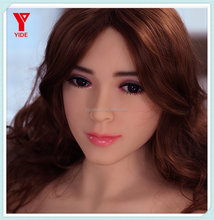 Newest Design Sexy Body Hot Girl TPE Queen Sex Doll Head