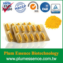 OEM Organic Turmeric Curcumin capsule supplements
