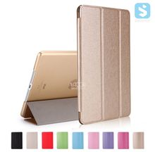 for iPad 9.7 2017 PU Leather tri fold stand flip case cover