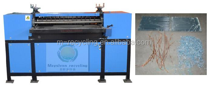 R-6 Waste Radiator Recycling machinery for Copper Iron and Aluminum/radiator reyecling equipment/aluminum recycling machine