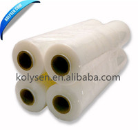 center folding transparent pe shrink film for packing plastic film protective packaging film