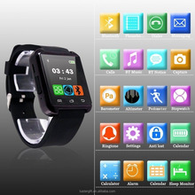 Free Shipping Bluetooth Watch Phone relogio inteligente reloj Smart Watch U8 Smartwatch for IOS and Android