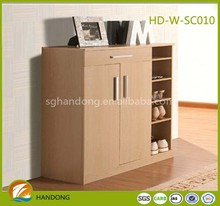 Modern Large Capacity Wooden Cabinet Parts Shoes Rack/ Cabinet